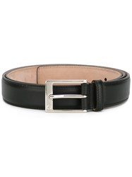 Gucci Rectangular Buckle Belt Black
