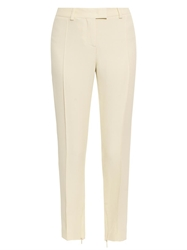 Christopher Kane Skinny Leg Cropped Crepe Trousers