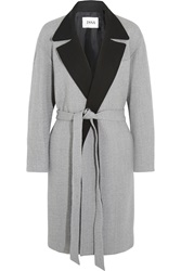 Issa Robbie Brushed Wool Blend Coat
