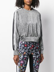 No Ka' Oi Glitter Detail Sports Top Metallic