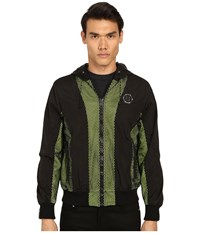 Philipp Plein Never Again Jacket Black Yellow
