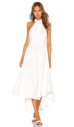 C Meo Collective Confirmative Gown In White. Chalk