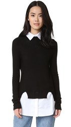 Top Secret Bryant Sweater Black White