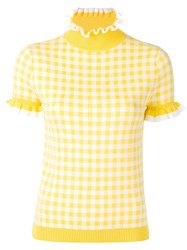 Shrimps Mary Knitted Top Yellow