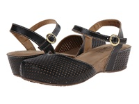 Spring Step Lizzie Black Women's Sandals