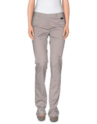 Cristinaeffe Trousers Casual Trousers Women Grey