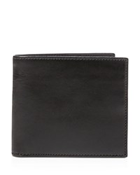 Polo Ralph Lauren Leather And Silk Tie Wallet Black