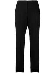 Alexander Mcqueen Tailored Fitted Trousers Black