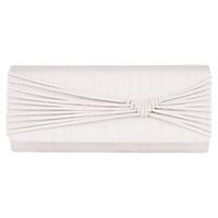 Jacques Vert Woven Detail Clutch Mid Neutral