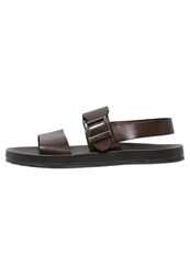 Zign Sandals Testa Di Moro Dark Brown
