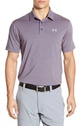 Men's Under Armour 'Playoff' Short Sleeve Polo Petrol Blue Fuego