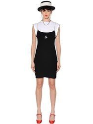 Alyx Rose Embroidered Stretch Knit Dress