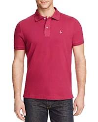 Tailorbyrd Pique Short Sleeve Classic Fit Polo Compare At 69.50 Bordeaux