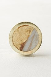 Anthropologie Goldenbrush Knob Beige