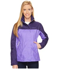 Marmot Precip Jacket Electric Iris Midnight Women's Jacket Purple