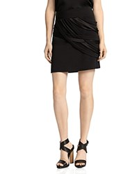 Halston Heritage Strapped Mini Skirt Black