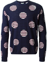 Kenzo Polka Dot Stripped Sweater