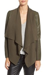 Blank Nyc Women's Blanknyc All Or Nothing Faux Leather Jacket Green