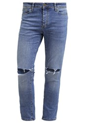 Pier One Slim Fit Jeans Destroyed Denim
