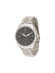 Timex Waterbury Traditional Day Date Watch Silver