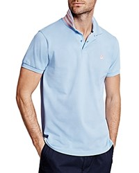 Thomas Pink Warner Plain Regular Fit Polo Blue