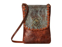 Leather Rock Hh75 Cognac Handbags Tan
