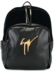 Giuseppe Zanotti Design 'Carey' Backpack Black