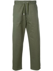 Blood Brother Idol Trousers Cotton Green