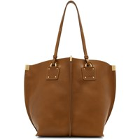 Chloe Brown Medium Vick Tote