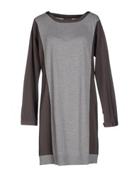 Alpha Massimo Rebecchi Dresses Short Dresses Women Grey