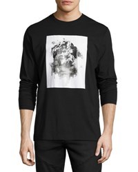 Public School Long Sleeve Graphic T Shirt Black
