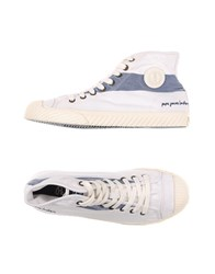 Pepe Jeans Footwear High Tops And Trainers Men White
