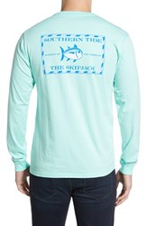 Men's Southern Tide 'Skipjack' Long Sleeve Graphic T Shirt