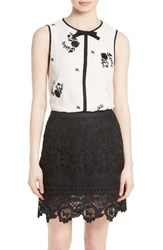 Ted Baker Women's London Soo Embroidered Top