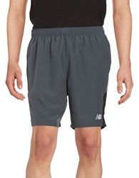 New Balance Athletic Shorts Grey