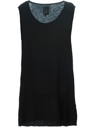 Thom Krom Raw Edge Tank Top Black
