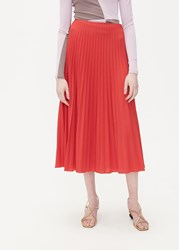 Beaufille 'S Lozano Skirt In Red Size 4 Polyester Wool Elastane