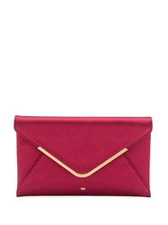 Anya Hindmarch Satin Clutch Bag 60