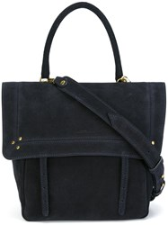 Jerome Dreyfuss Stud Detail Satchel Blue