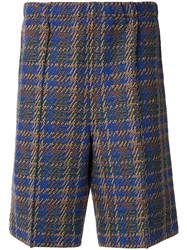 Coohem Madras Tech Elasticated Tweed Shorts 60