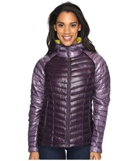 Mountain Hardwear Ghost Whisperer Down Hooded Jacket Blurple Women's Coat Blue