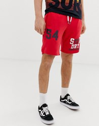Superdry Jersey Shorts Red