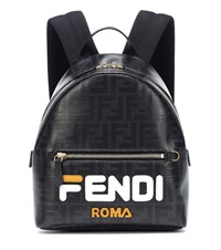 Fendi Mania Mini Backpack Black