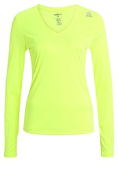 Reebok Long Sleeved Top Syello Neon Yellow