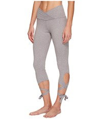 Onzie Ballerina Capris Stone Women's Workout White