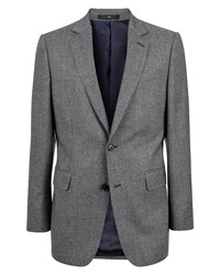 Jaeger Wool Puppytooth Modern Jacket Black