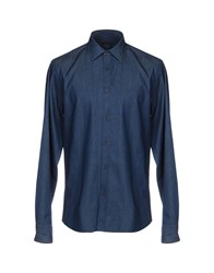 Altea Dal 1973 Denim Shirts Blue