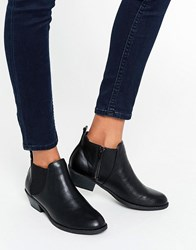 Head Over Heels By Dune Piro Black Chelsea Boots Black