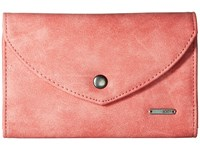 Roxy Stop Here Wallet Lobster Bisque Wallet Handbags Pink