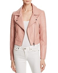 Blank Nyc Blanknyc Quilted Faux Leather Moto Jacket Pretty In Pink